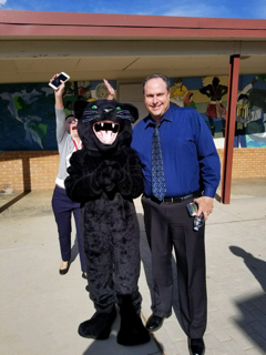 Markham Panther and Superintendent